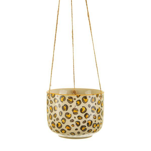 Leopard ampelkruka Sass & Belle